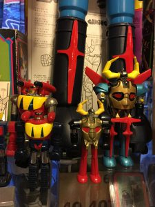 Mattel Gaiking and Poseidon Diecast