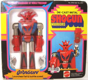 Mattel Shogun Warriors 5 inch box
