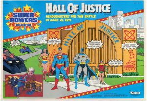 Kenner Super Powers Hall of Justice Playset