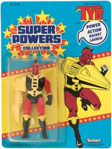 Super Powers Tyr Carded