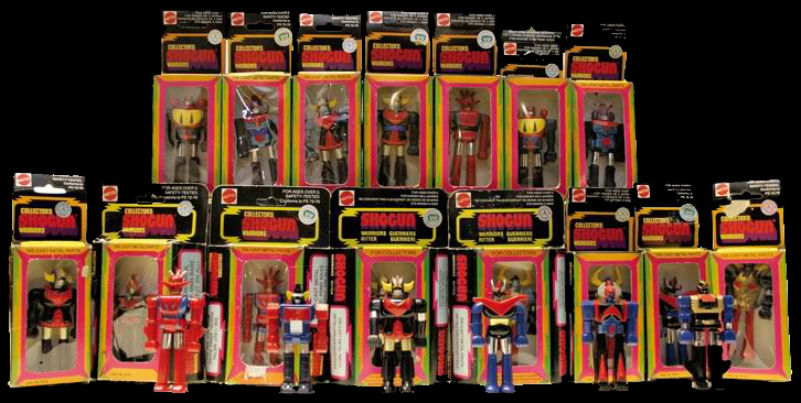 Mattel Shogun Warriors 3 inch