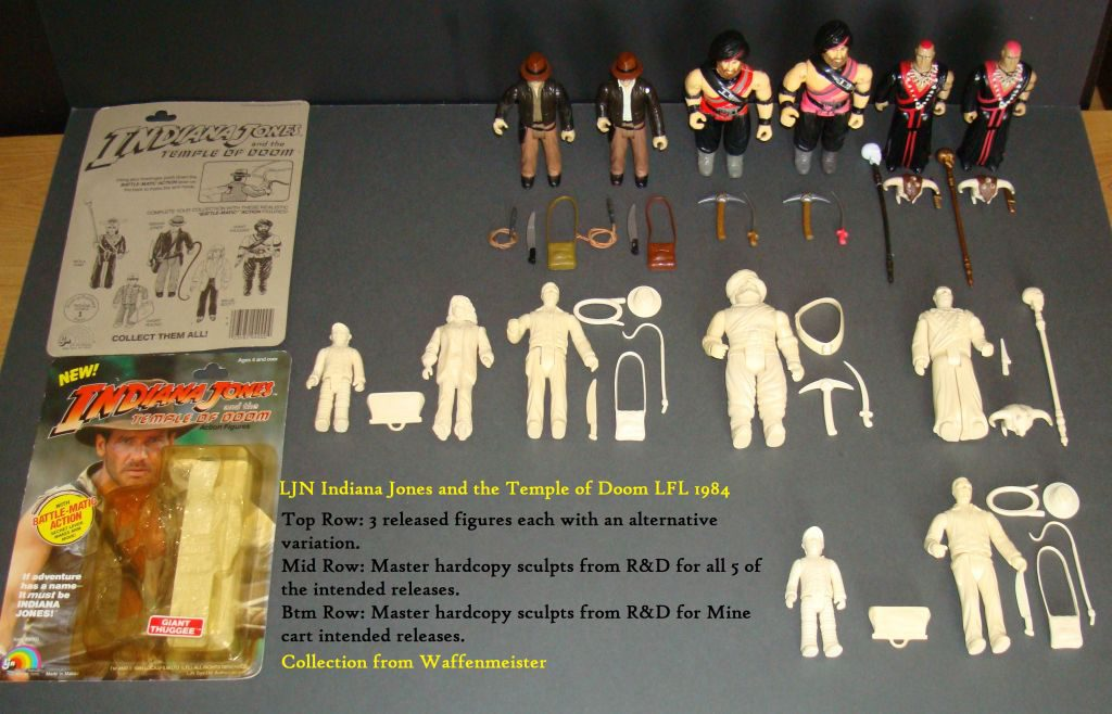 LJN indiana jones prototypes