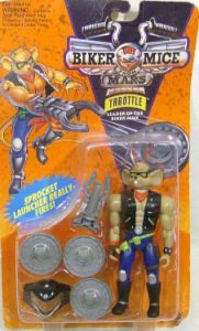 Galoob Biker Mice from Mars Throttle action figure