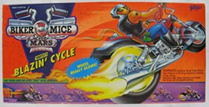 Galoob Biker Mice from Mars Throttle's Blazin' Cycle