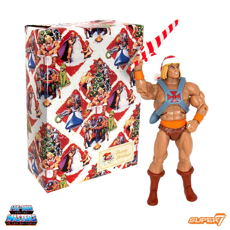 Super7 Holiday He-Man Action Figure 1
