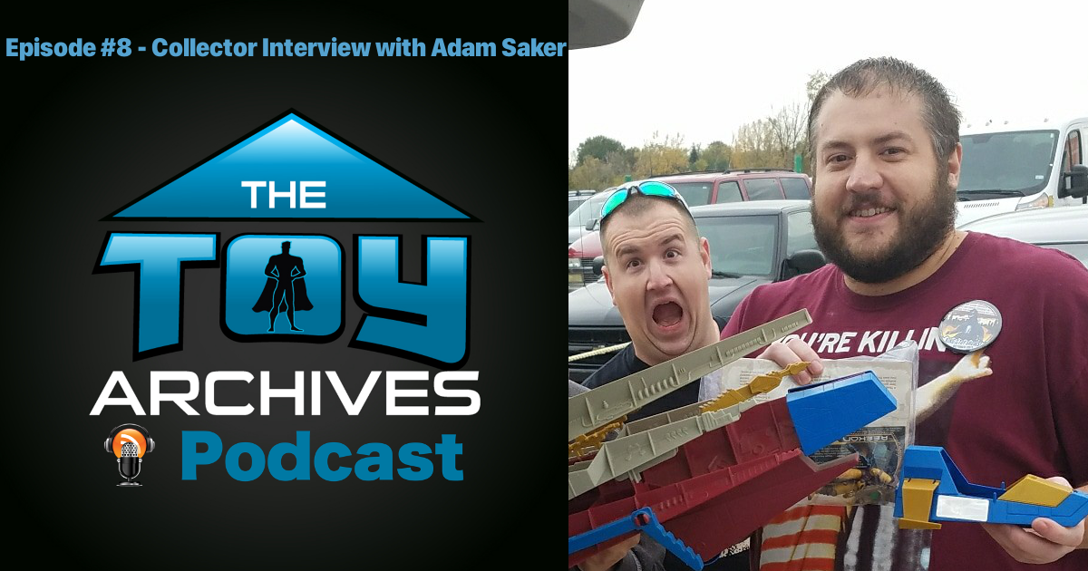 Episode 8 – Collector Interview with Adam Saker (Star Wars, Prototypes, and more!)
