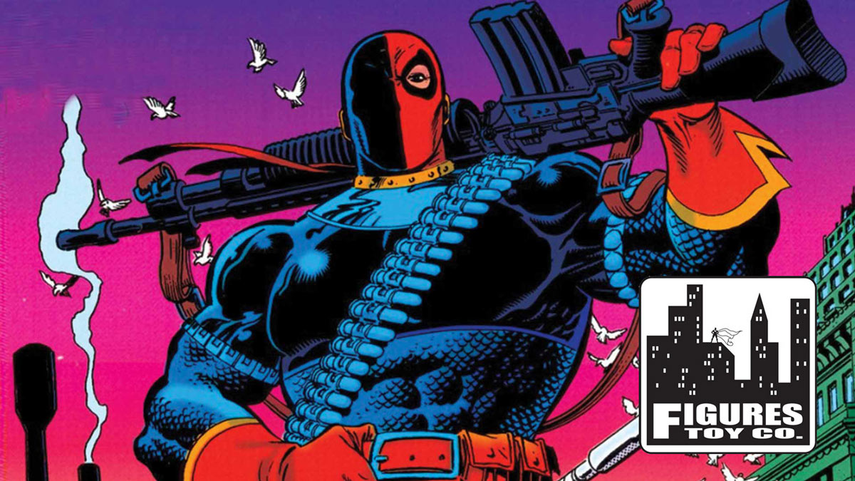 Figures Toy Company Announces New Deathstroke 8 Inch Action Figure