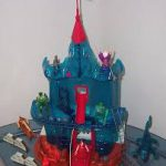 Remco Crystar Action Figures Crystal Castle Loose
