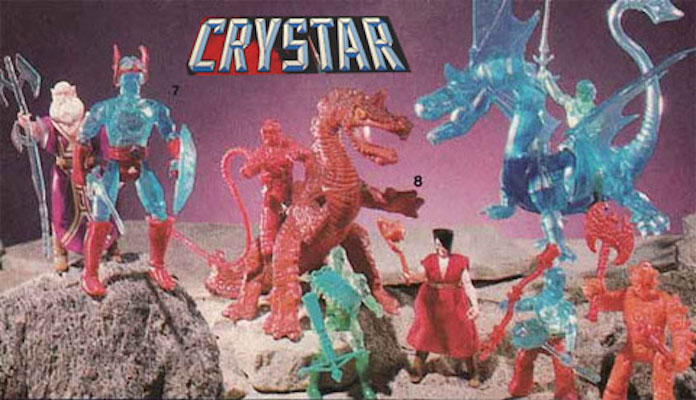 Remco Saga of Crystar Action Figure Poster