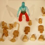 Remco Crystar Action Figures Feldspar Resin Hardcopy Prototype Parts