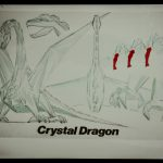 Remco Crystar Crystal Dragon Figure Reference Art