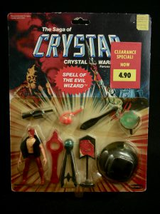 Remco Crystar Spell of the Evil Wizard Action Figure Set