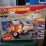 Vintage Kenner Laser Command Action Figure Playset